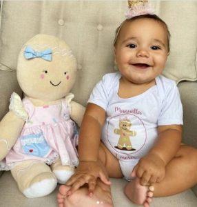 Ticiane Pinheiro COMEMORA sete meses da sua bebê com Festa de Carnaval!