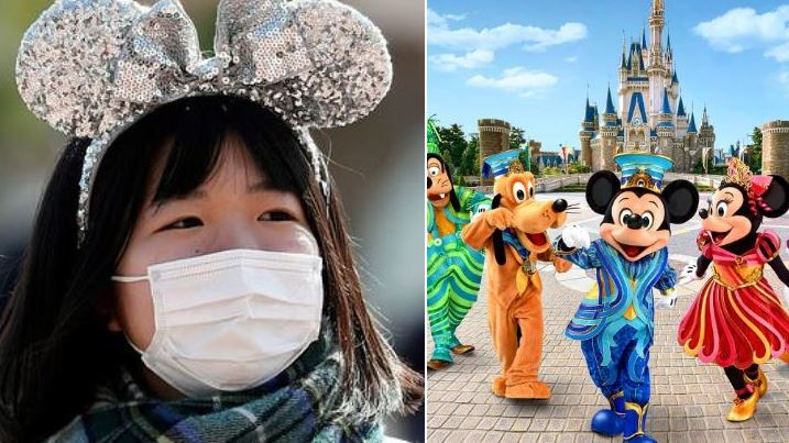 DISNEY Fecha Por Causa Do Coronavirus