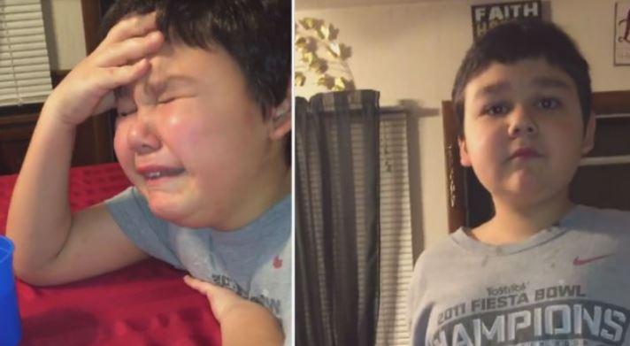 Menino De 9 Anos Chora De Alegria Ao Receber A última Dose De Quimioterapia: Video