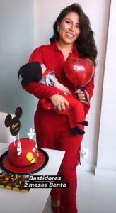 Andressa Ferreira e Thammy comemoram 2 meses do filho com festa simples e fofa