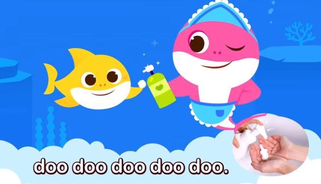 Vídeo: Nova Música Baby Shark Ensina Crianças A Lavarem As Mãos!