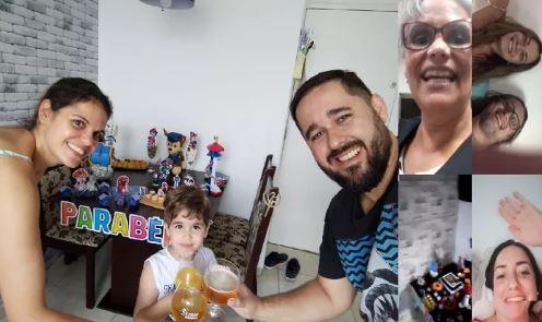 Coronavírus: Mãe Faz Festa De Aniversário Online Para Filho De 4 Anos E Viraliza Na WEB