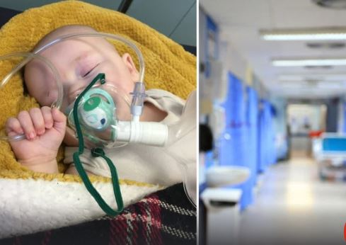 Pai Compartilha Foto Comovente De Filho Com Pneumonia E Suspeita De Coronavírus