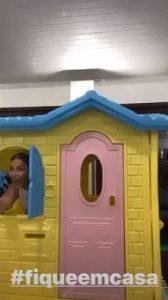 Ivete Sangalo ENCANTA a web ao mostrar a casa de bonecas de suas gêmeas