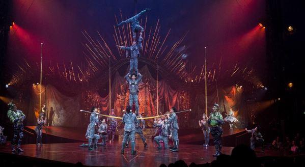 Cirque Du Soleil Anuncio Que Vai Fazer Show Online Neste Periodo De Quarentena